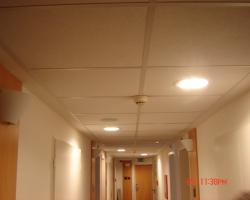 Inštalácia osvetlenia v hoteli