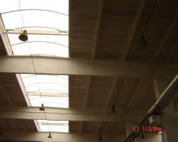 Montáž osvetlenia vo výrobnej hale